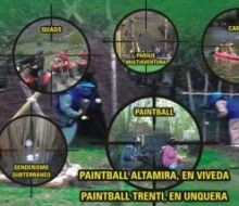 Paintball y Multiaventuras. Irconniños.com