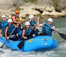 Rafting familiar. Irconniños.com