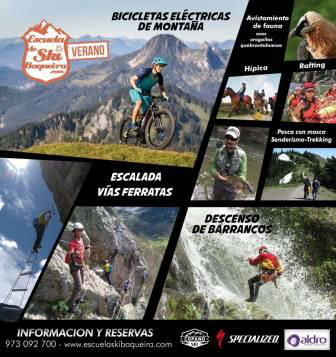 Summer Bike Camp en el Valle de Arán. Irconniños.com